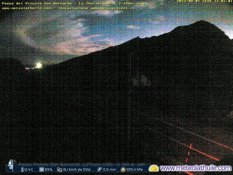 webcam piccolo san bernardo