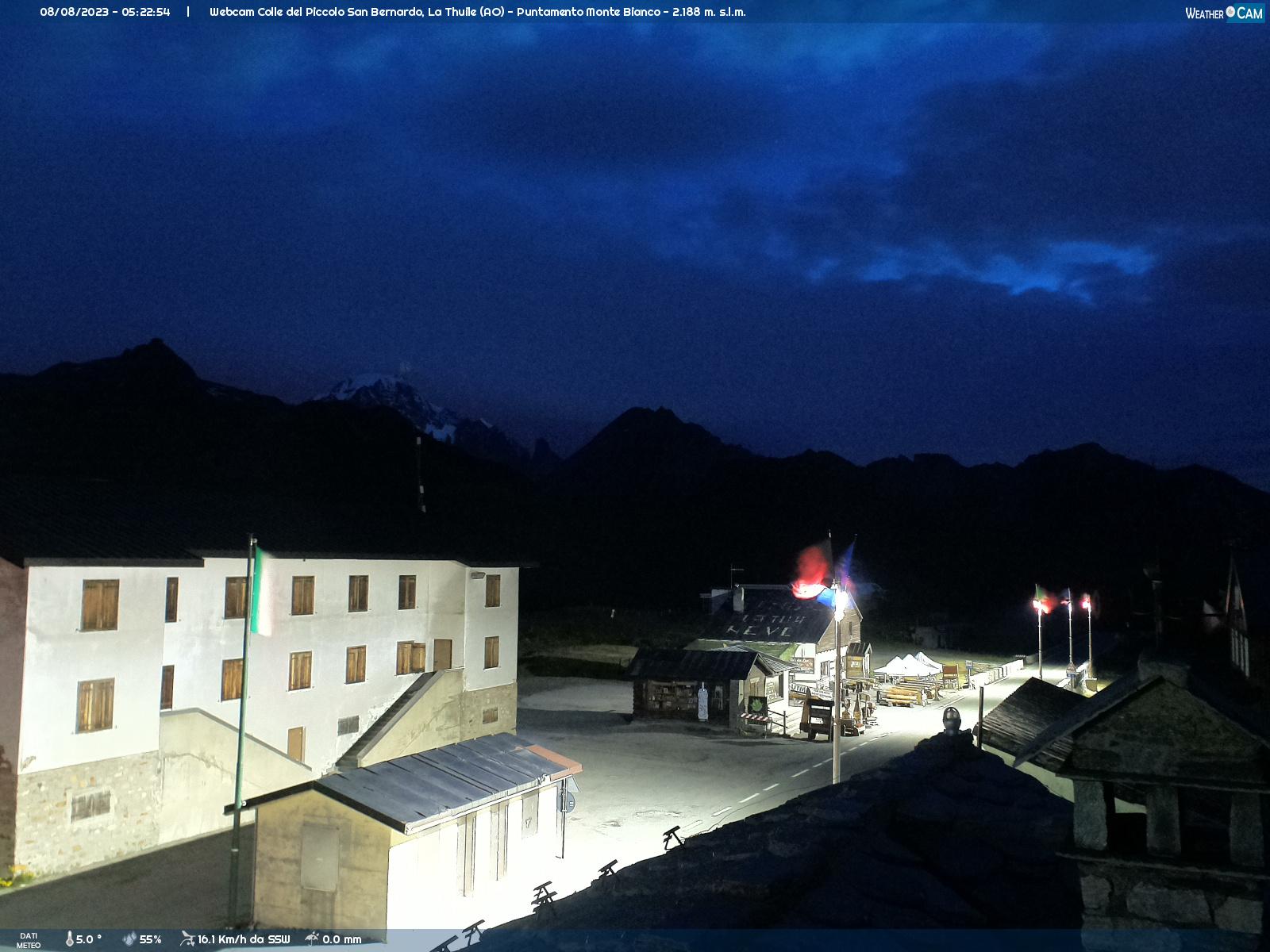 webcam la thuile monte bianco